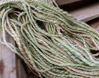 Art Yarn handspun / Hand Spun Effect Yarn Merino Wool Slub