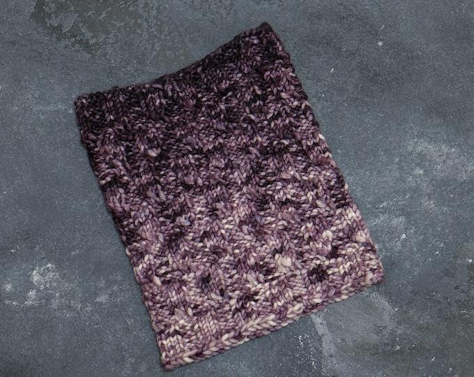 Strick Loop Schal für Kinder ab 1 bis 2 Jahre / handgefärbt und handgestrickt