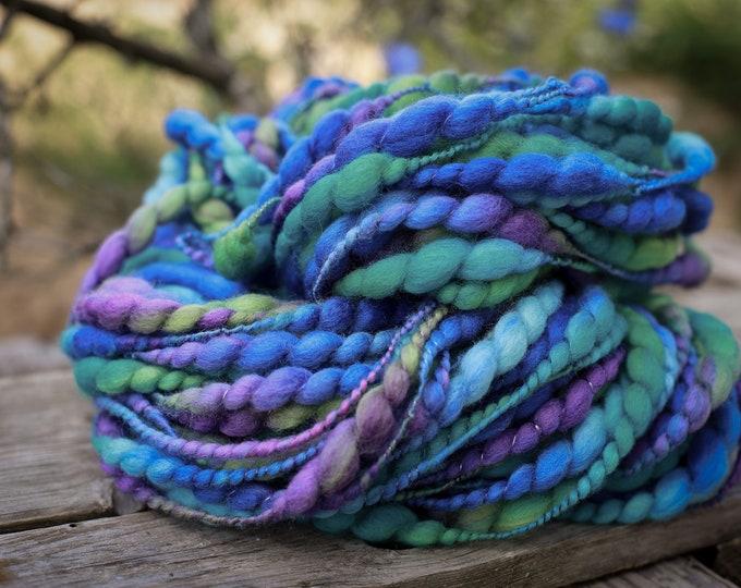 Art Yarn, Thick and thin Yartn Handspun Effect Yarn Merino Wool Slub Yarn / Felt Wool, Wool for Weaving