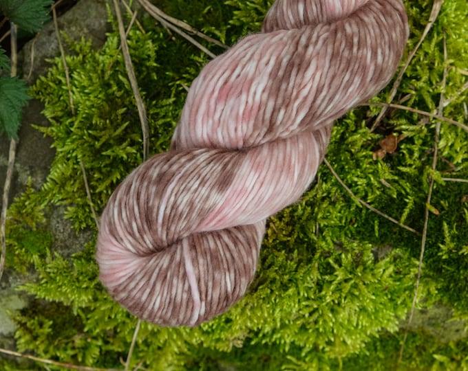 Merinowolle in Farbverlauf handgefärbt  100g