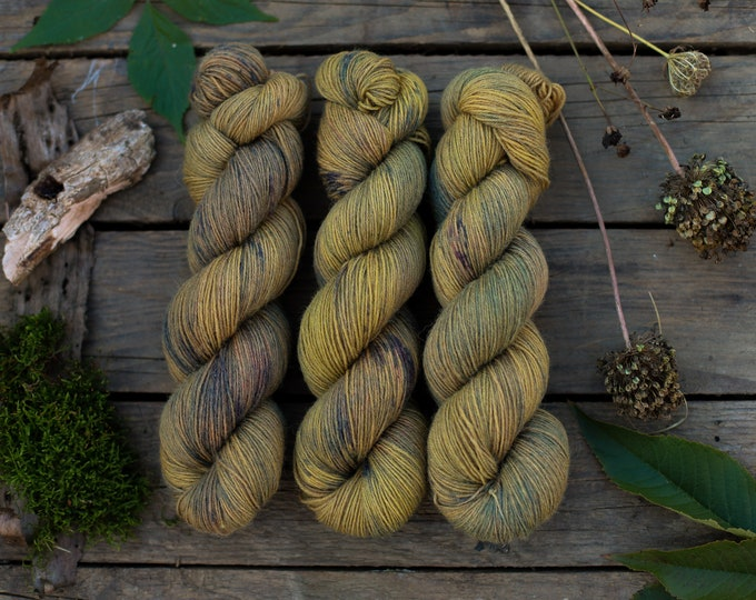 Handdyed SockYarn, Fingering Yarn, 75 Wool 25 Polyamide, Sock Wool Hand Dyed, Knitted Wool Wool