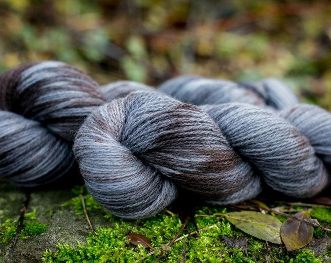 Hand dyed Merino wool yarn / Merino petting wool hand dyed knitting wool wool 50g