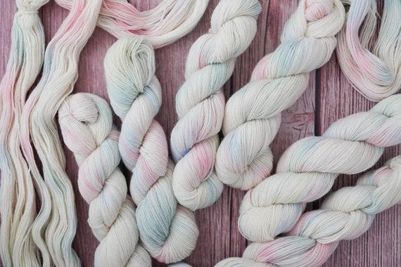 Hand Dyed Yarn Wool  4 ply sock wool  50g