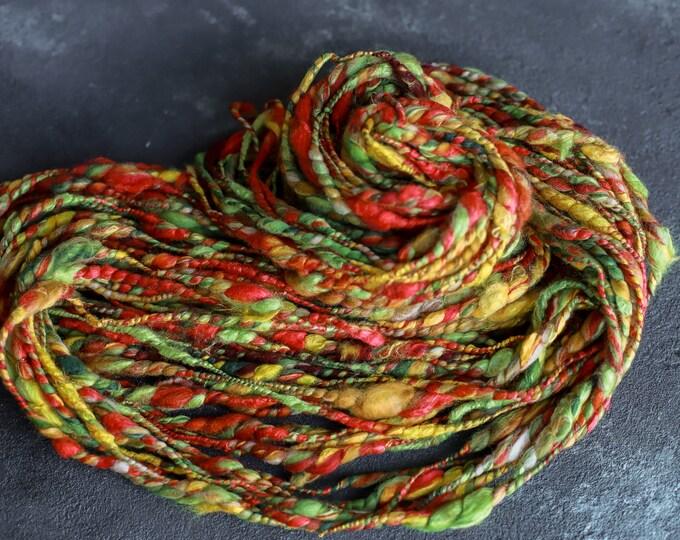 Art Yarn Merino Wool Handspun Effect Yarn Merino Wool Slub thick and thin