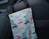 car trash can, empty car pocket, zero waste, waste bag, car accessory, storage bag, cloth bag, handmade