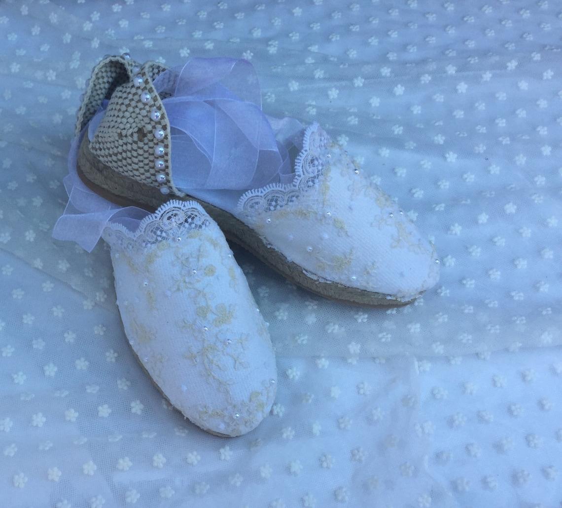 Bridal Espadrille Bride Wedding Shoes Comfort - Big Sale 7gEq7