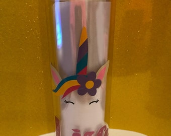 Personalized Animal Face Tumblers