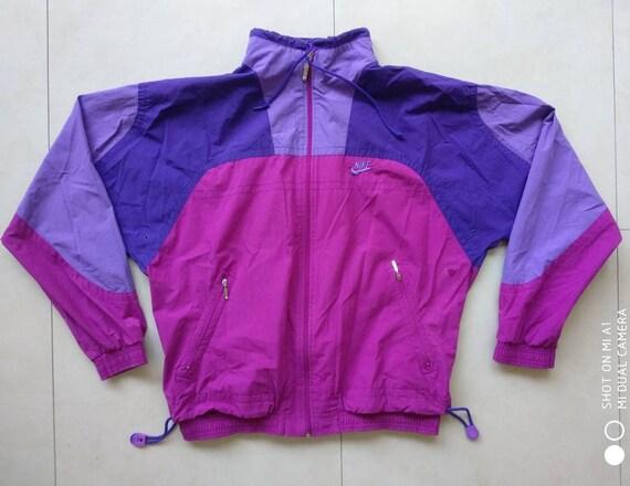 14967c605ad5 Vtg NIKE Windbreaker Jacket   Gray tag Big Logo Old School