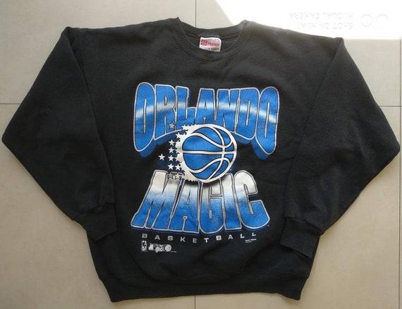 33036c94c Vtg ORLANDO Magic Sweatshirt   Old School Retro 90s Basketball Nba ...