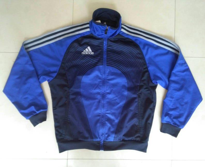 84304896584264 Vtg ADIDAS track windbreaker jacket   90s 80s fashion   hip