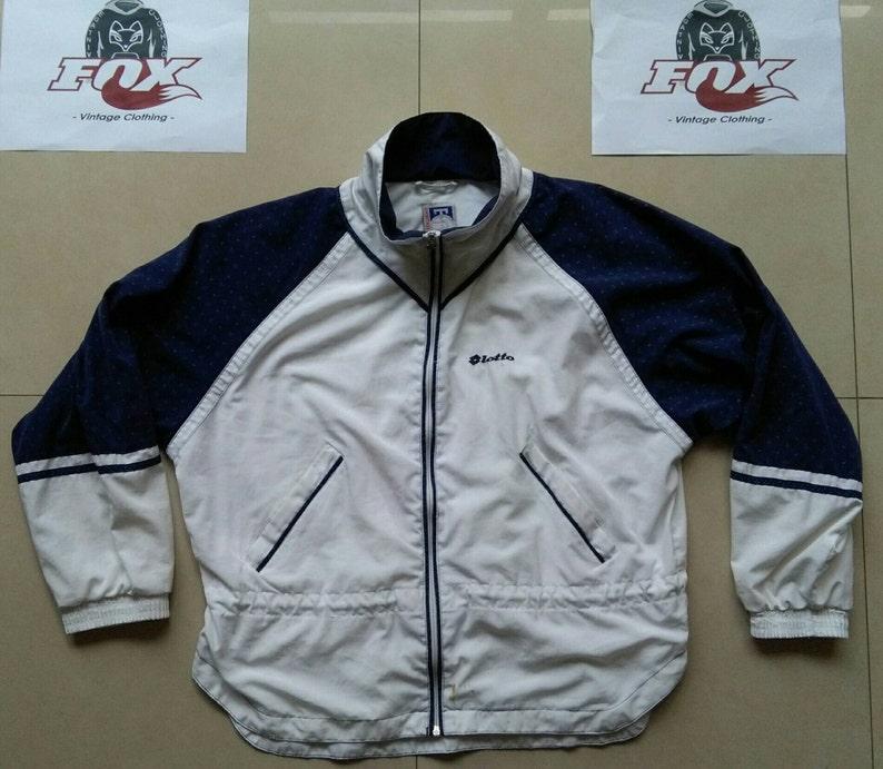 24c05fb1b75c Vtg Lotto windbreaker track shell jacket   90s old school