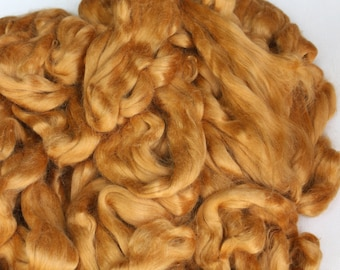 weaving /& mor Natural Undyed Vegan Peace Silk for spinning Red Eri Silk Fiber