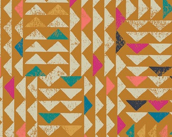 Trojkat in Desert - Indie Folk by Pat Bravo - Art Gallery cotton fabric