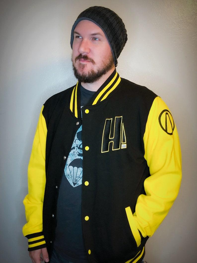 Borderlands Hyperion inspired letterman jacket