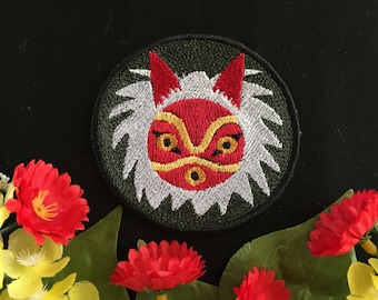 Princess Mononoke- San, Charm, Patch
