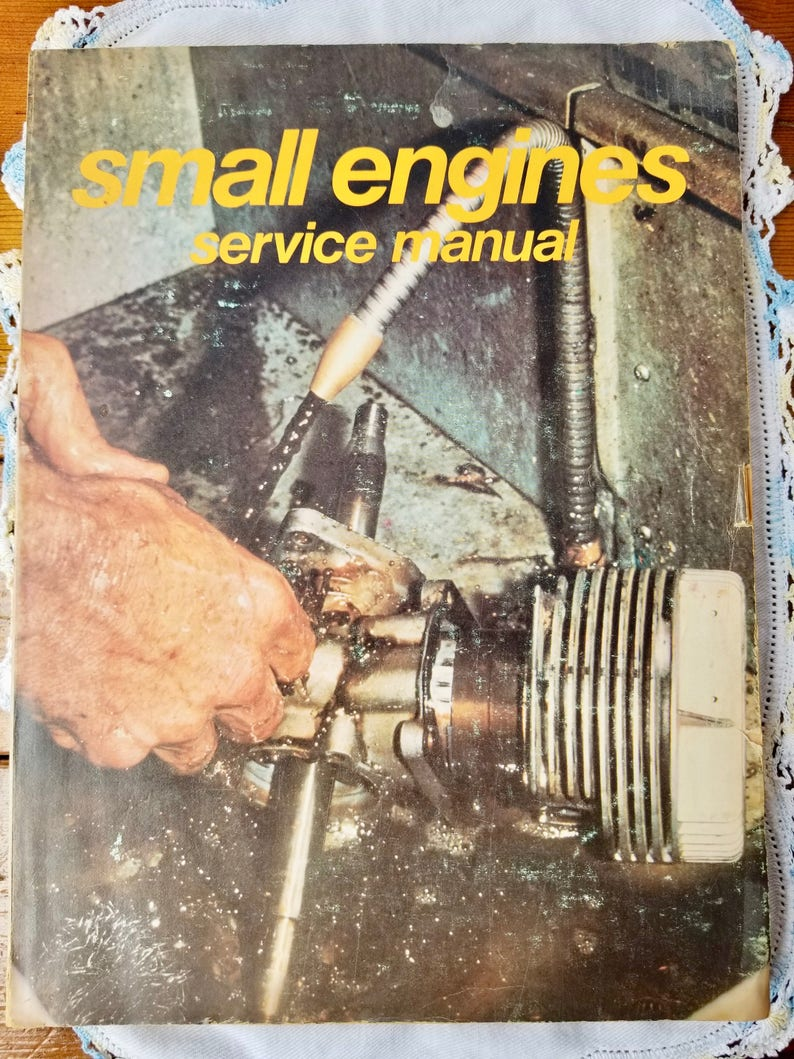 Small Engine Repair Book