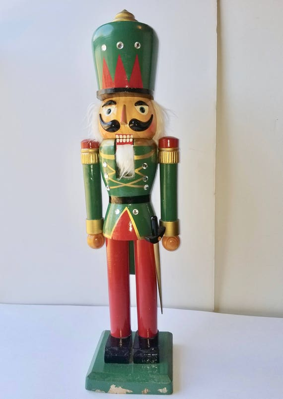 image 0 - Large Toy Soldier Christmas Decoration