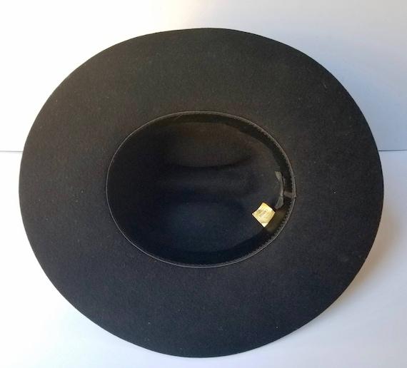 Black Western Cowboy Hat, Youth Size Large  Weste… - image 5