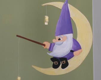 Mobile - Gnome and Moon