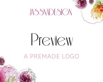 Preview a premade logo -  Update and File - Resend Files - Rush Order - Extra File