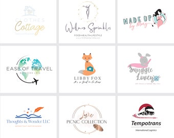 Custom logo design - Graphic design custom logo - Custom Branding Kit - Custom logo design and watermark, letterhead, business card, sign