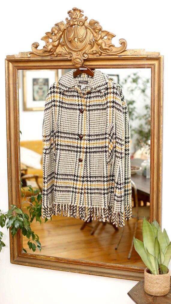Amazing Vintage Wool Cape