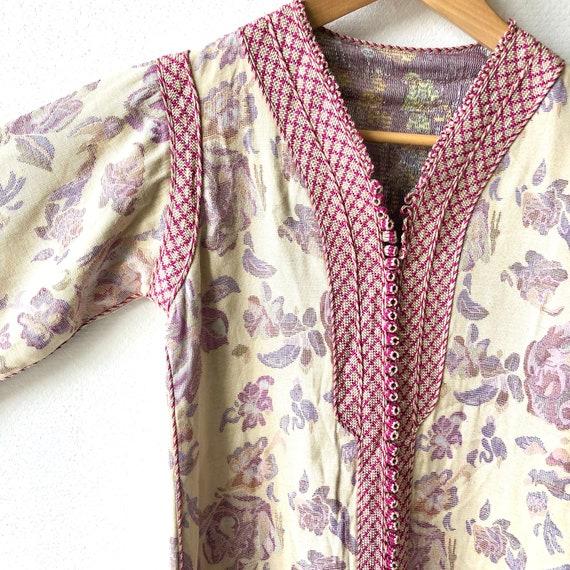 Vintage Moroccan Dress/Kaftan