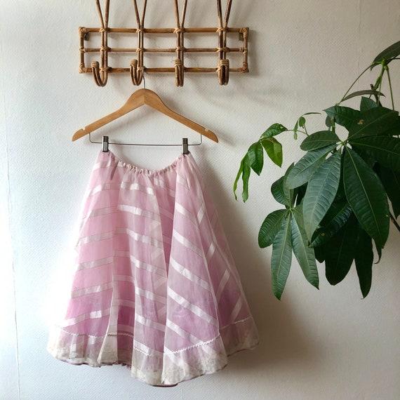Vintage Tulle Tutu Skirt
