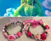 Moana Te Fiti Flower Crown, Te Fiti Cosplay, Te Fiti Costume, Flower Crown, Flower Head band, Moana Flower Crown, Tefiti Flower Crown