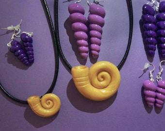 Ursula Necklace - Ursula Jewelry great for Ursula Costume for Halloween, Ursula Jewelry, Ursula Costume, Ursula Seashell