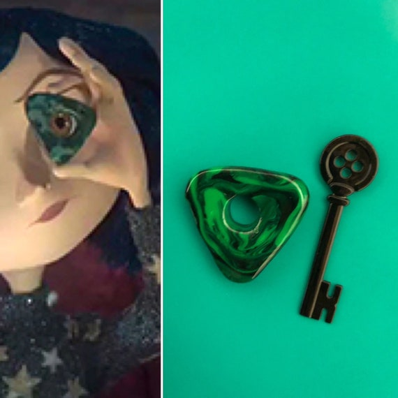 Coraline Seeing Stone Necklace Looking Stone Amulet Etsy