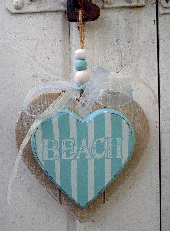 Beach Hanging Sign
