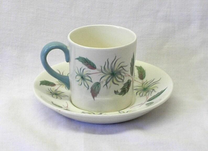 Vintage Wedgwood China Penshurst Demitasse Cup And Saucer Etsy