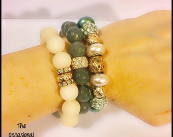 Seasonal Bracelet Stack