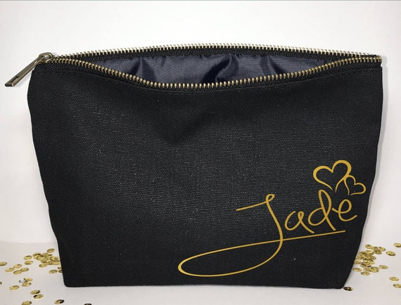 Personalized Gift Makeup Bag Gifts Ideas Cosmetic