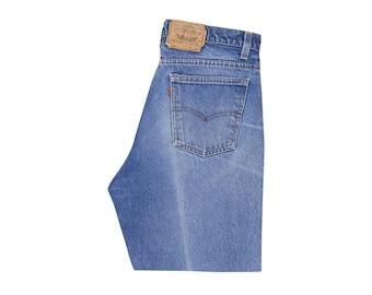 f370c073 Vintage Levis 509 Orange Tab Faded Ripped Knee Distressed Jeans USA