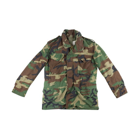 super popular a52b4 dd387 Alpha Industries M65 Army Camo Jacket Military Camouflage