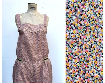 PEPPER Liberty of London Jumpsuit Playsuit Romper French Vintage