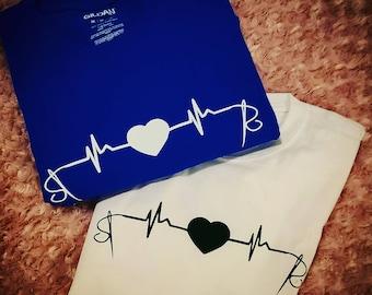 Cross stitch inspired shirt