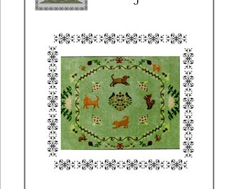Ring a Rosie cross stitch pattern