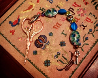 Scissor Fob and Scissors