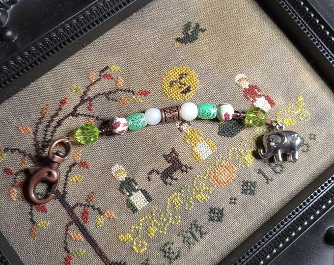 Scissor Fob - Elephant themed scissor fob