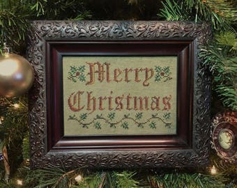 Merry Little Christmas PDF Digital Download