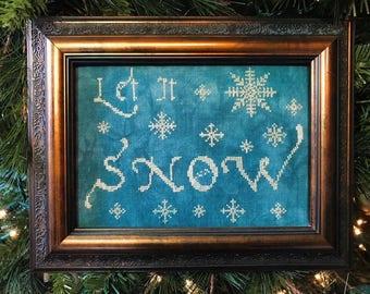 Let it Snow PDF Digital Download