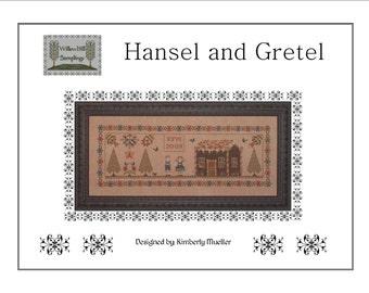 Hansel and Gretyl Cross Stitch Pattern