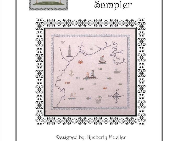 Little Mermaid Cross Stitch Pattern - PDF Digital Download