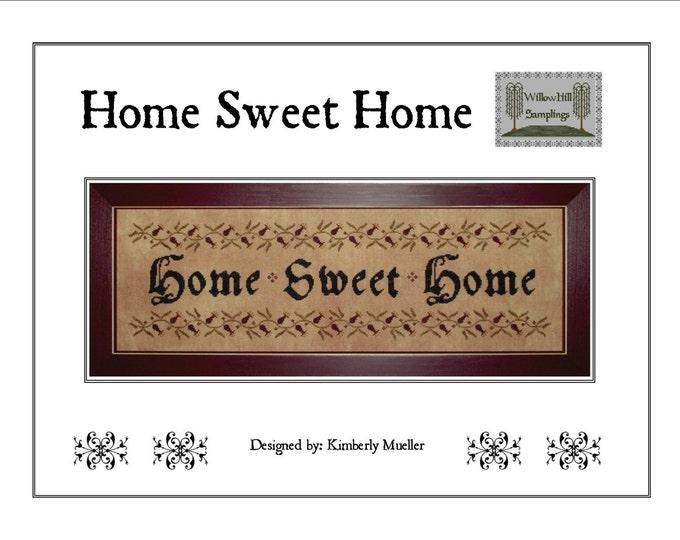 Home Sweet Home Cross Stitch Pattern - Hard Copy