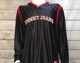 Vintage Tommy Jeans Athletic Jersey by Tommy Hilfiger