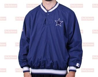 Dallas Cowboys Starter Jacket NFL Proline Jacket Vintage Dallas Cowboys  football jacket pullover starter jacket vintage football rare nfl 2cf513798