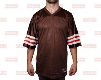 9cb0f2f4a Cleveland Browns Blank Jersey Vintage Cleveland Browns Nike Football Jersey  Rare Blank NFL Jersey Odell Beckham Jr. Baker Mayfield Browns